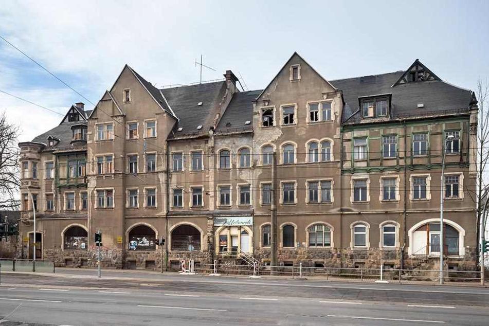 Um dieses Haus an der Annaberger Straße gibt es derzeit großen Ärger.
