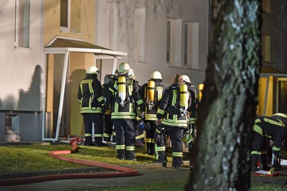 Das Mehrfamilienhaus musste evakuiert werden.