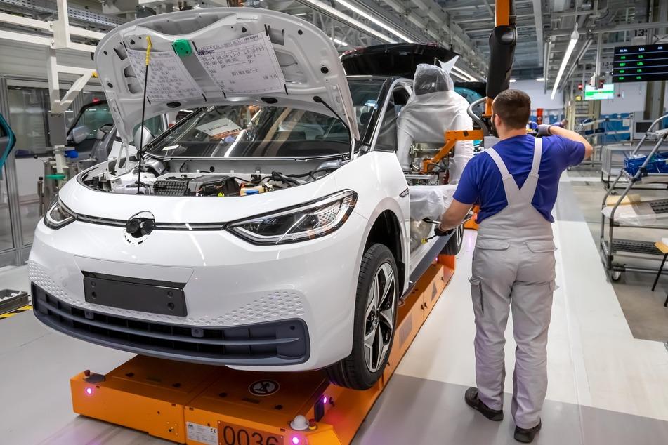 Im VW-Werk in Zwickau wird der neue Stromer ID.3 produziert.