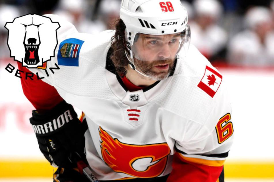 Stürmt NHL-Legende Jaromir Jagr (46) künftig für die Eisbären?