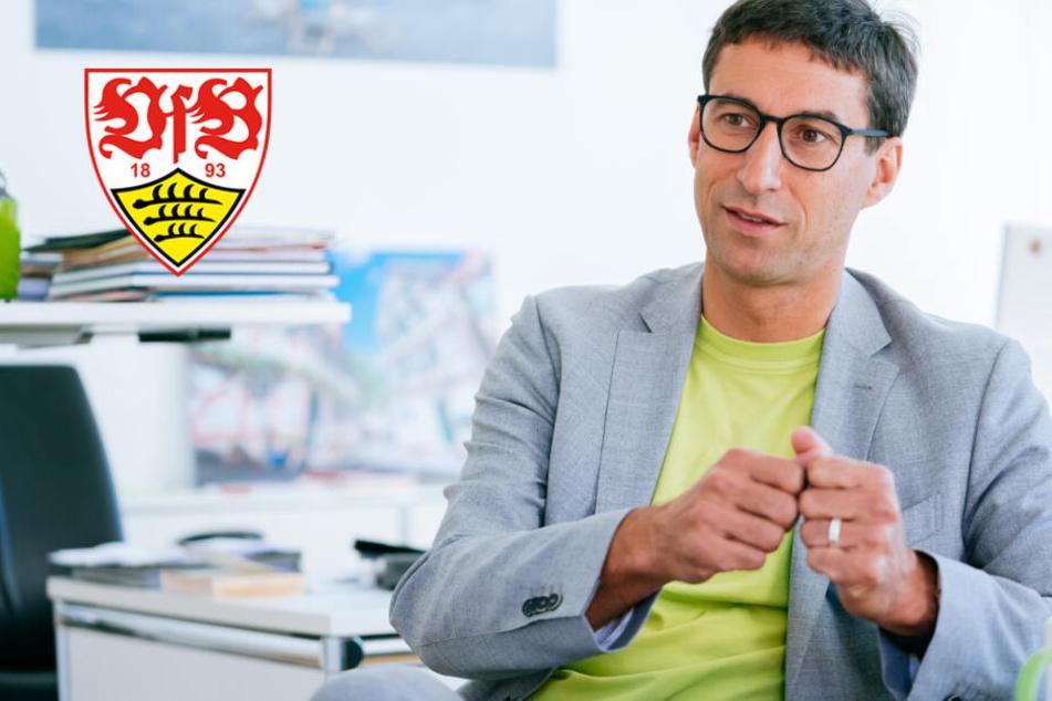 """Er will der neue VfB-Präsident werden: """"Extrem klare Haltung gegen Rechts"""""""