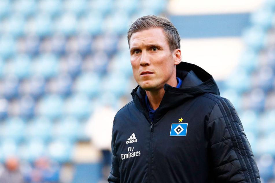 Trainer Hannes Wolf startet am 5. Januar mit dem Hamburger SV in die Vorbereitung auf die Rückrunde.