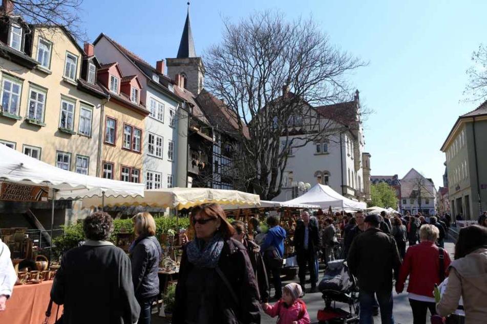 In Erfurt wird es nur einen verkaufsoffenen Sonntag geben.