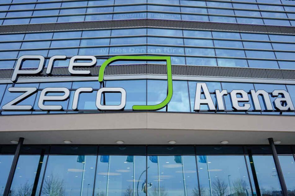 Die Pre Zero Arena in Sinsheim.