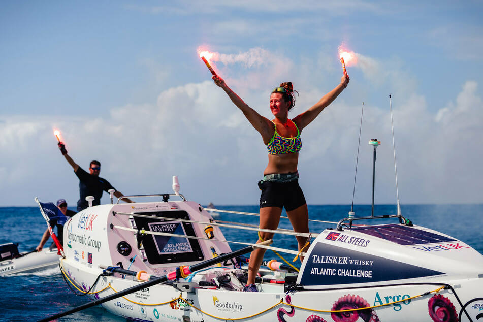 Atlantik-Überquerung per Ruderboot: 21-Jährige knackt Rekord