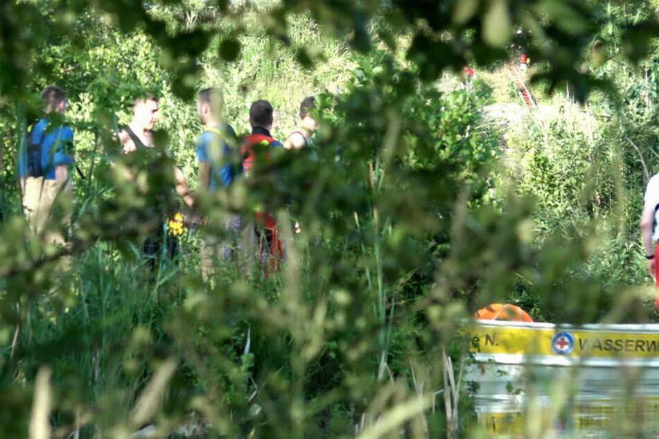 In einem kleinen See bei Mötzing ist ein 39 Jahre alter Mann untergegangen.
