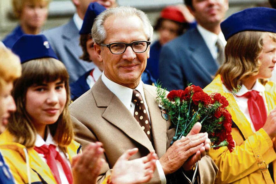 Da hatte Erich Honecker noch gut lachen. 15 Jahre später wurde die DDR abgewickelt.