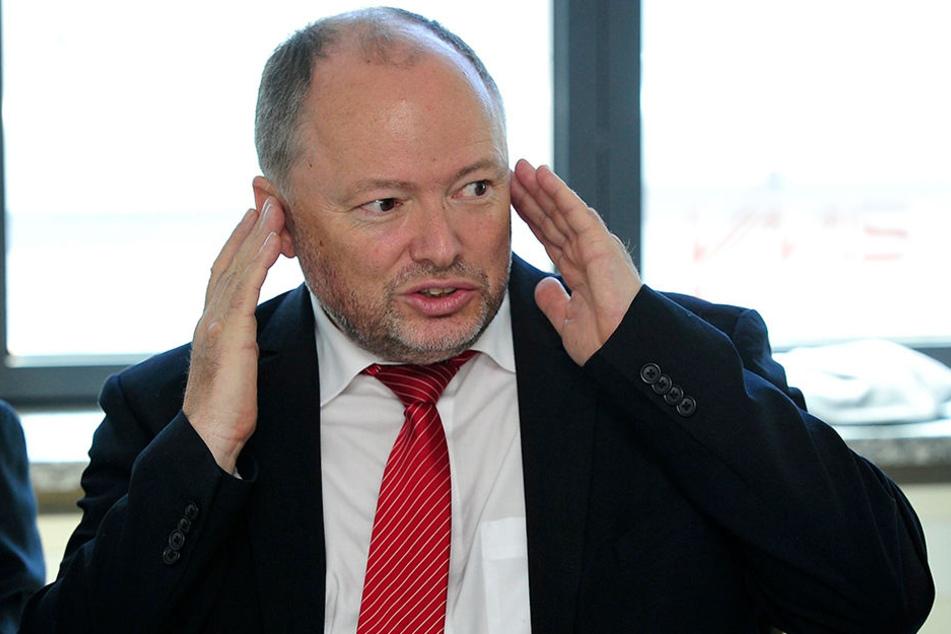 Tobias Richter (55), Geschäftsführer der Mitteldeutschen Regiobahn, weist die Vorwürfe gegen sein Unternehmen zurück.