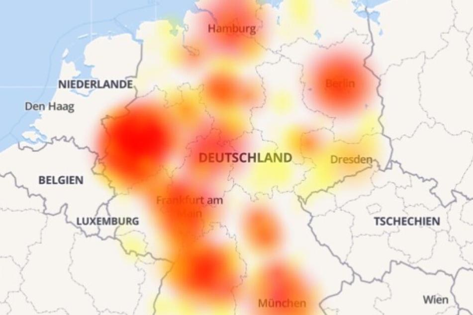 Mega Storung In Deutschland Seit Stunden Geht Nichts Mehrere