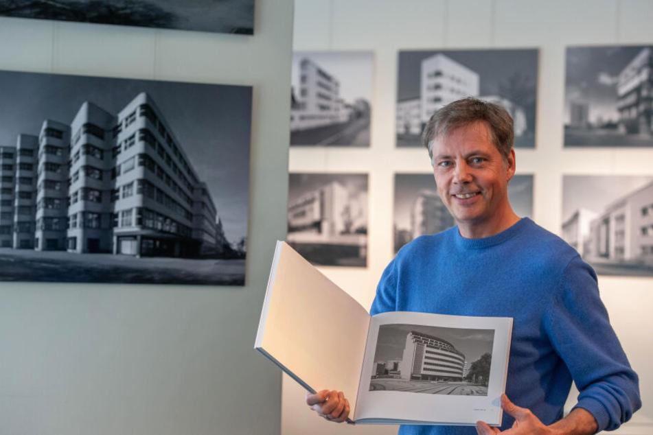 """Jean Molitor hat für sein Projekt """"bau2haus"""" in der ganzen Welt fotografiert - auch in Chemnitz. Seine Bilder sind im smac zu sehen."""