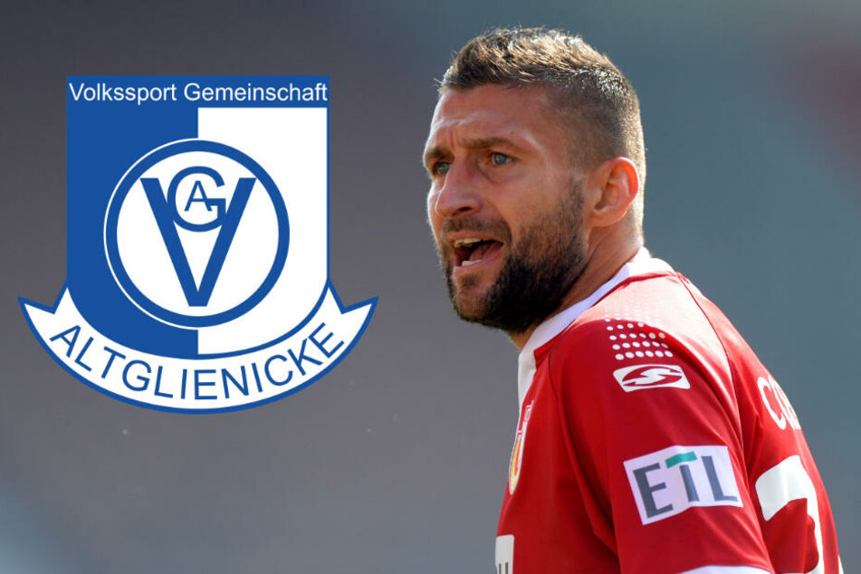 Union-Legende Torsten Mattuschka spielte in der letzten Saison noch für die VSG Altglienicke. (Bildmontage)