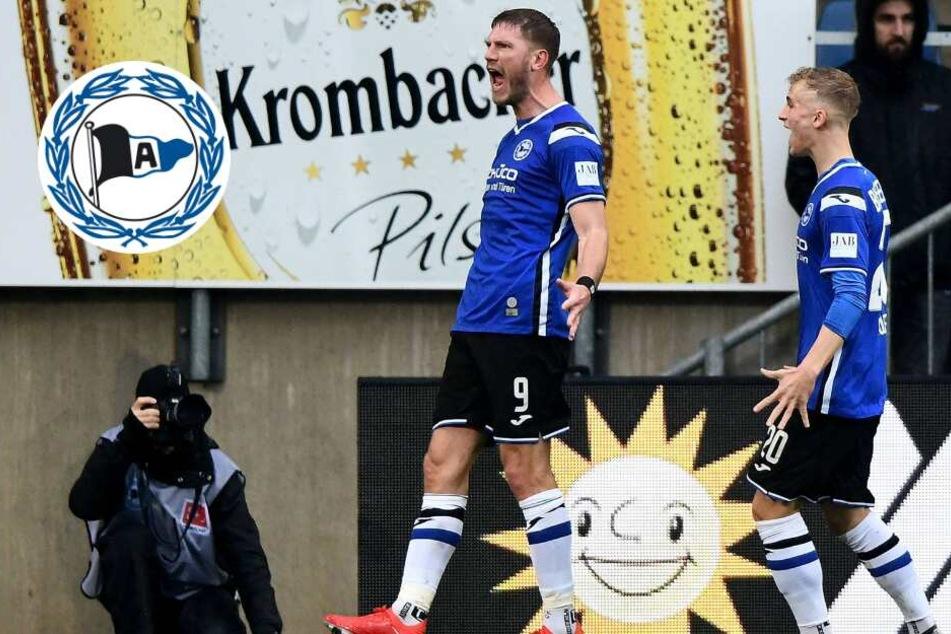 Wichtiger Dreier für Bielefeld: Fabian Klos schießt Arminia erneut ins Glück!