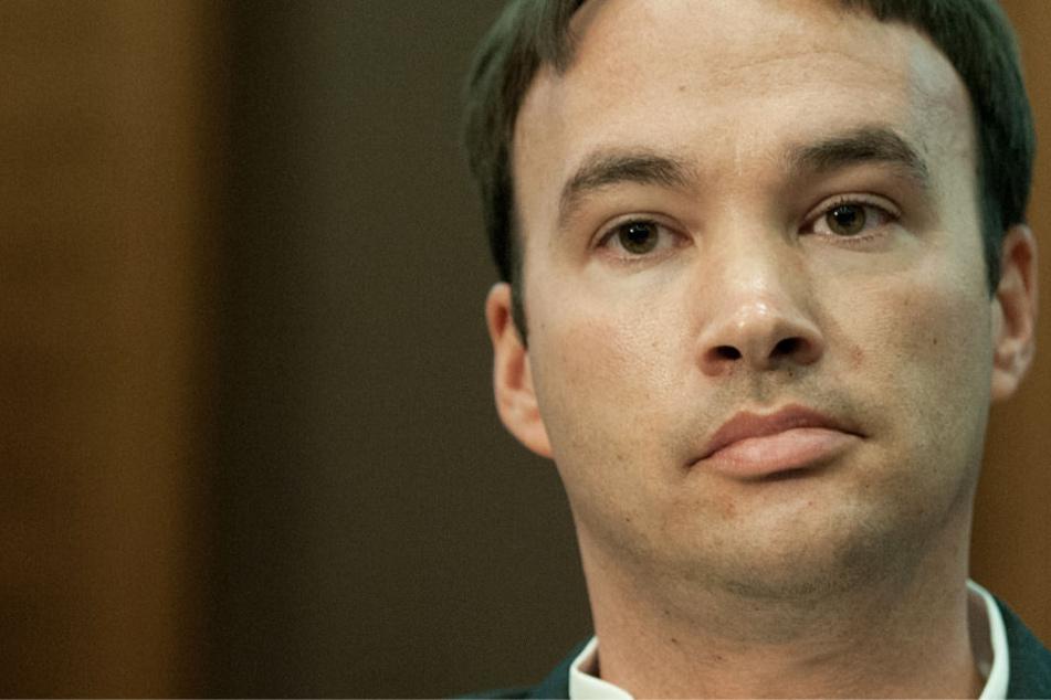Das Foto zeigt den Mörder vor Gericht im Jahr 2012.