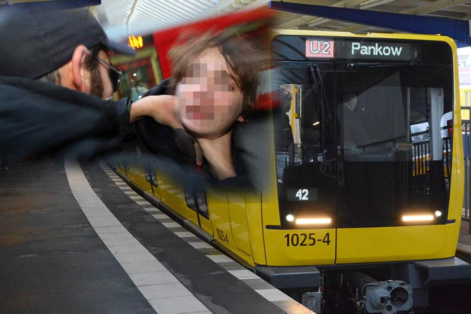 In der U-Bahnlinie U2 soll ein Mitfahrer gewürgt worden sein. (Symbolbild)