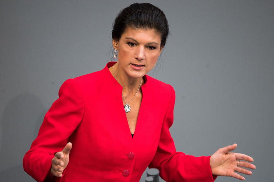 Sahra Wagenknecht wäre mit einem Bündnis aus CDU und SPD unzufrieden.