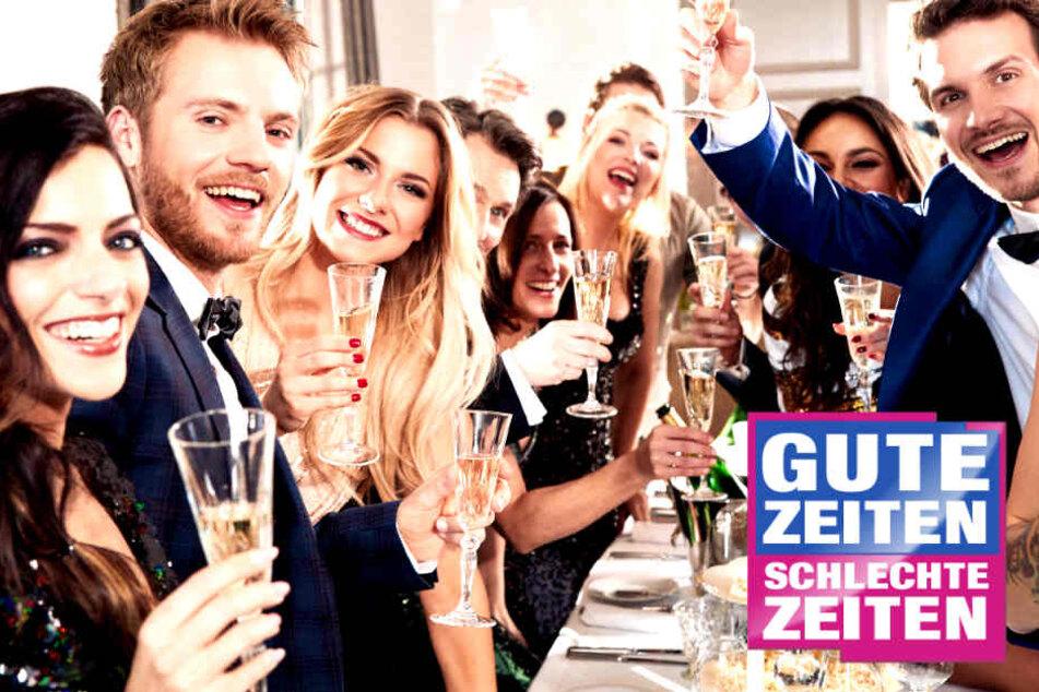 Grund zum Feiern: GZSZ wird ins Ausland verkauft!