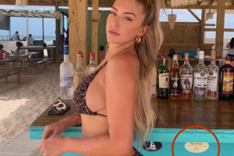 Sexy Bild von Kardashian-Freundin, doch alle schauen woanders hin