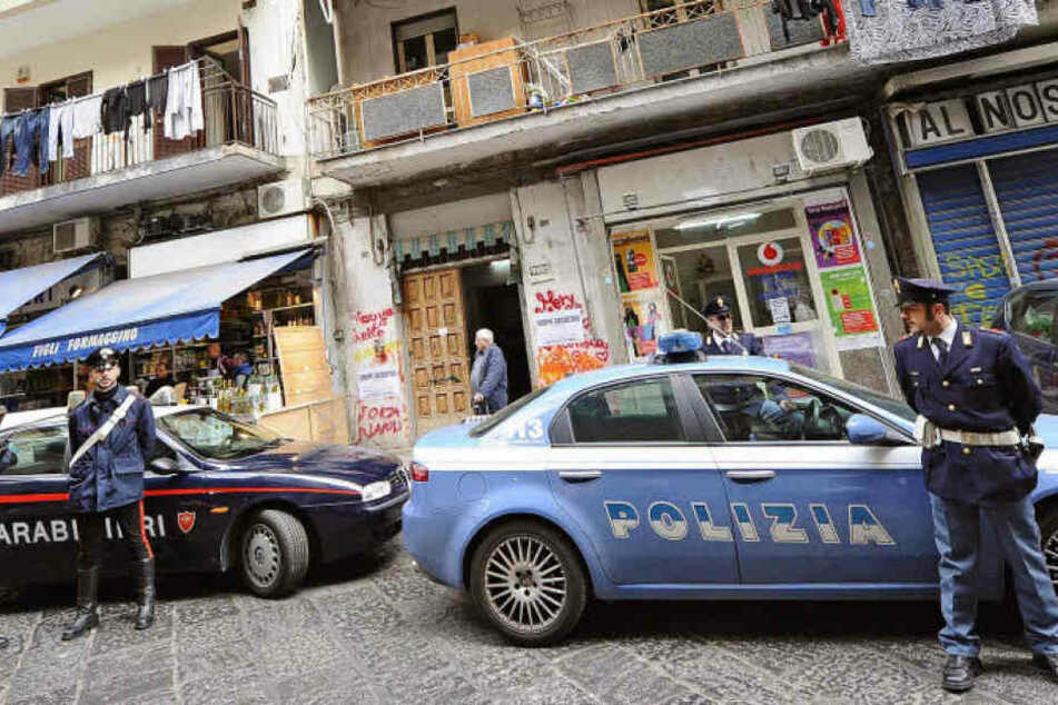 Die italienische Polizei fahndet auf Hochtouren nach dem Mörder. (Symbolbild)