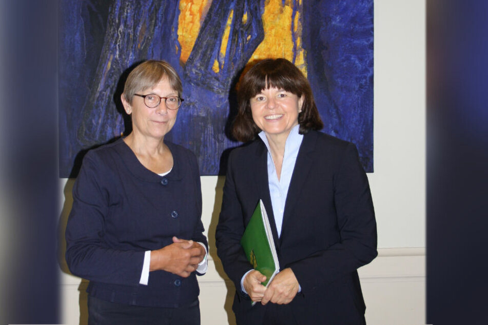 Sie ist die erste Präsidentin an einem sächsischen Amtsgericht: Regina Tolksdorf (51).