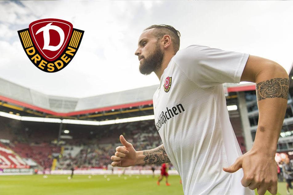 """Dynamos Modica vor Abschied: """"Es war eine super Zeit in Dresden"""""""