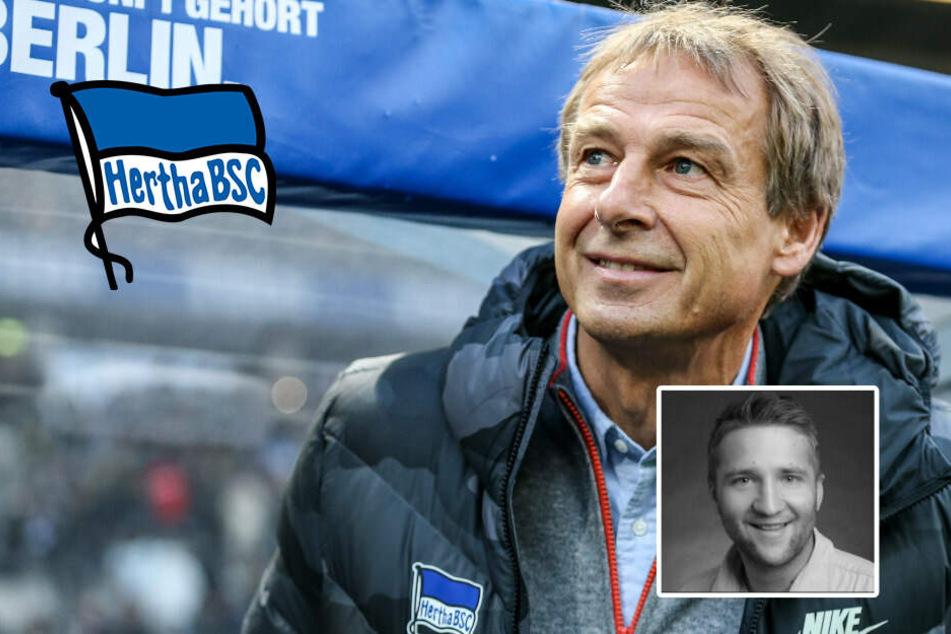 Meine Meinung: Klinsmann entlarvt sich selbst, Hertha ist ihm scheißegal!