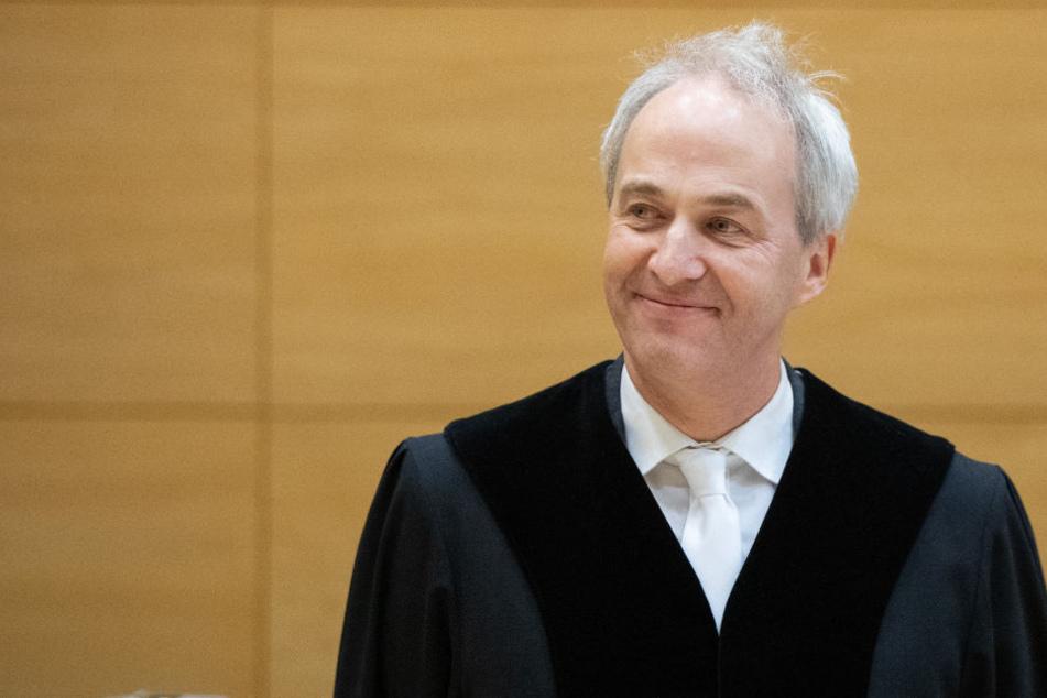 Der zuständige Richter Georg Zimmermann wird über das Urteil des Angeklagten entscheiden.