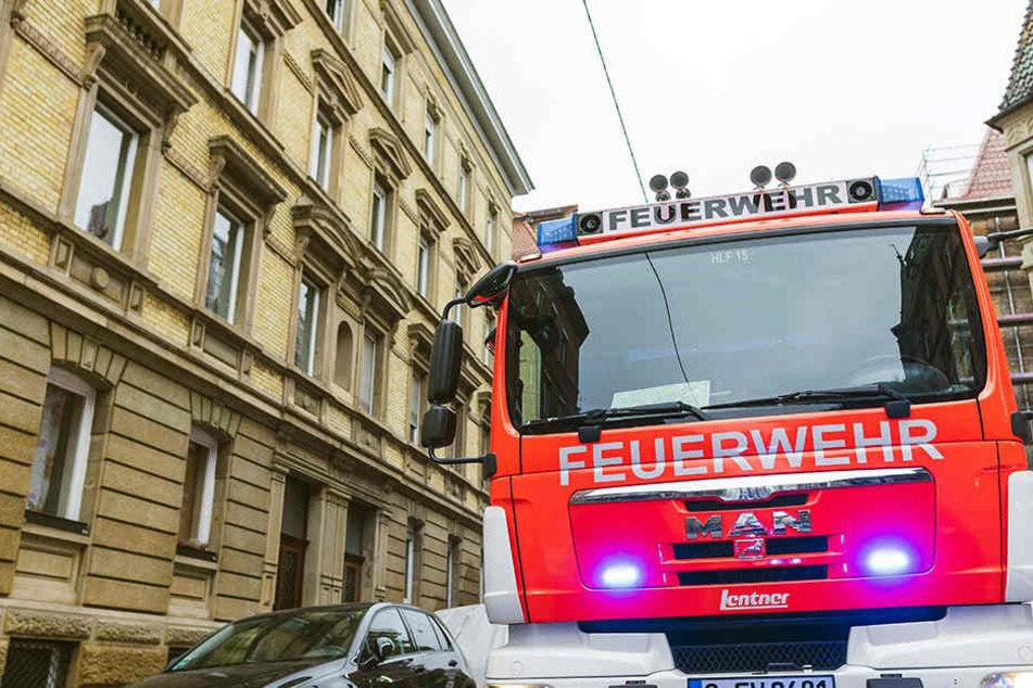 Im Leipziger Westen brannte am Dienstag ein Mehrfamilienhaus. (Symbolbild)
