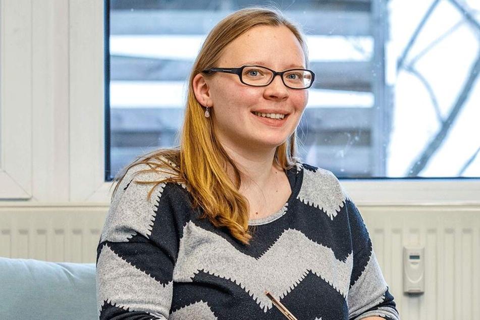 """Beraterin Odette Friebel (32) von der Beratungsstelle """"Kita-Rat""""."""