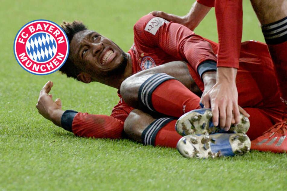 """Sorge um den """"King"""": Fällt Coman für FC Bayern gegen Liverpool aus?"""
