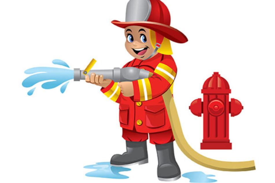 Beliebtes Shirt-Motiv: Irgendwas mit Feuerwehr.