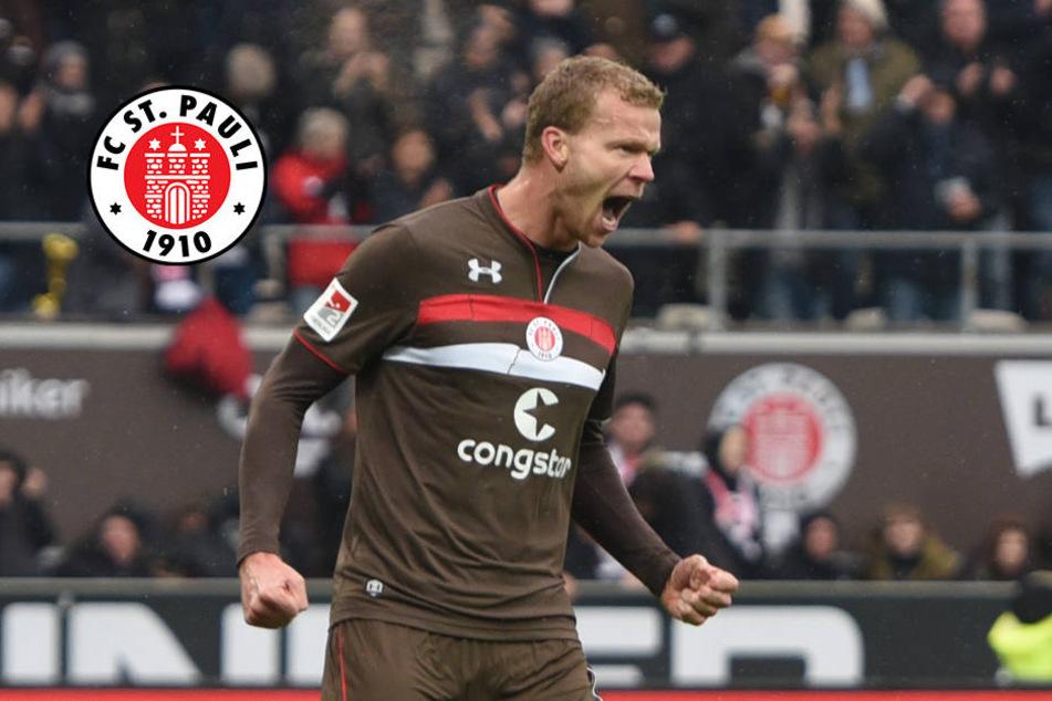 Veerman rettet FC St. Pauli vor Niederlage gegen Heidenheim