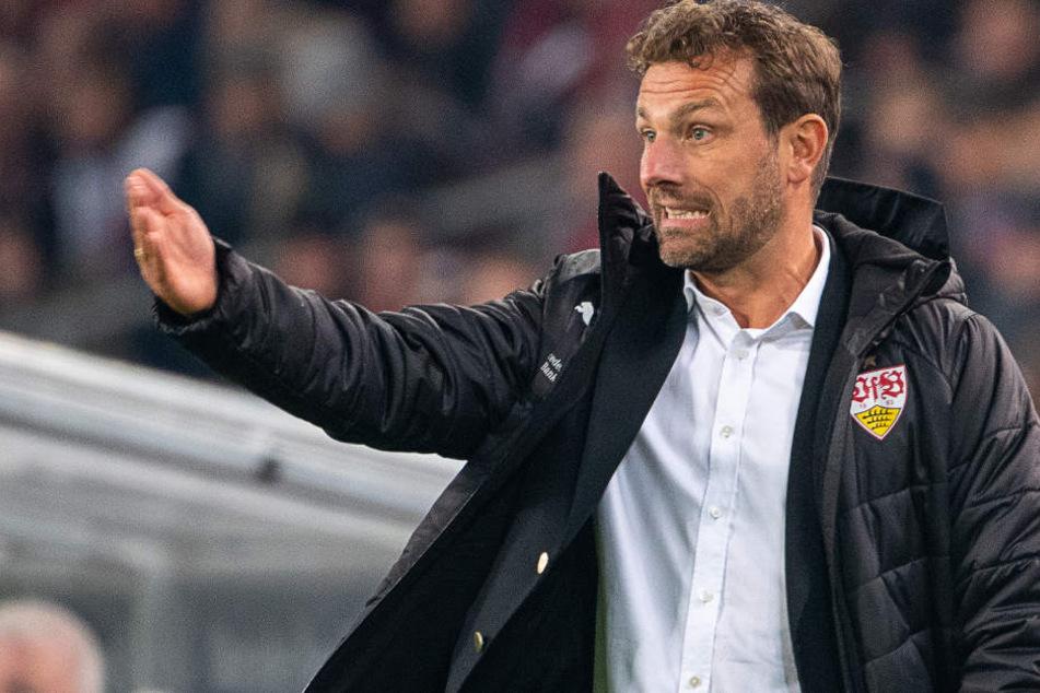 VfB-Coach Markus Weinzierl (43) weiß den kommenden Gegner Nürnberg nicht zu unterschätzen.