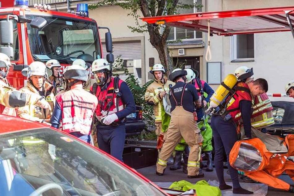 Die Tat löste einen Großeinsatz der Feuerwehr aus. (Symbolbild)