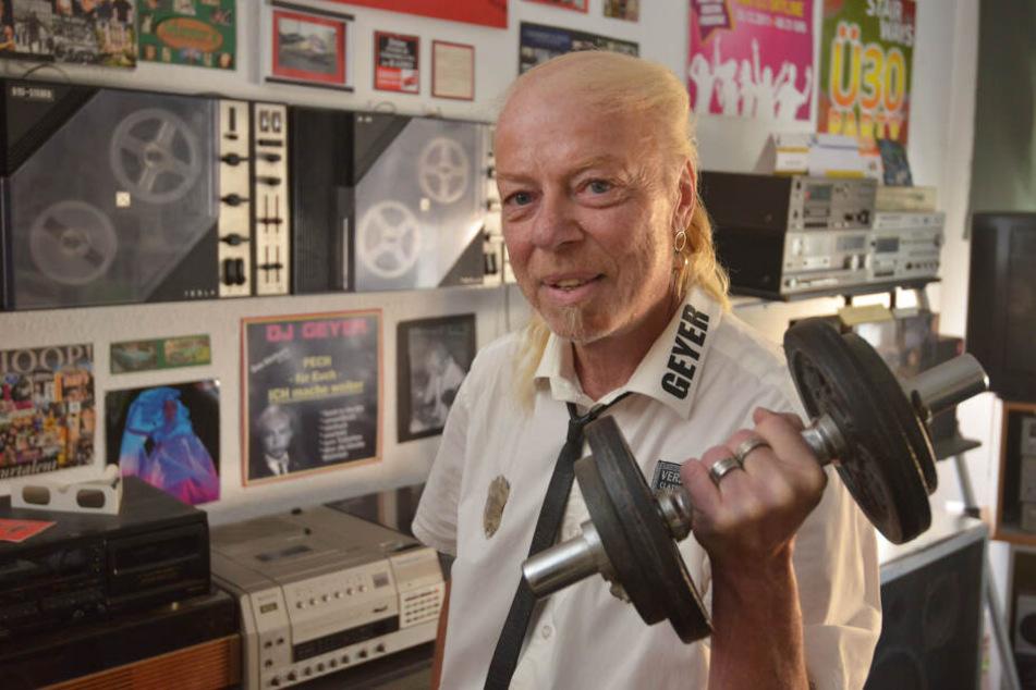 DJ Geyer wurde mit der Musik bekannt in Chemnitz.