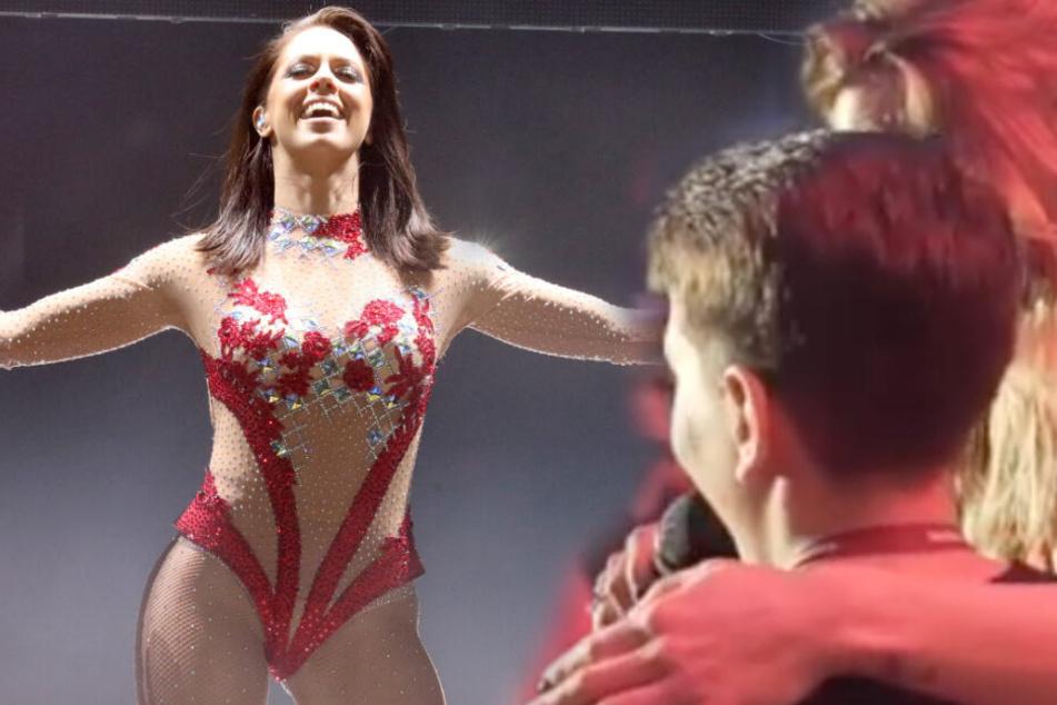 Vanessa Mai rockt die Bühne, dann stiehlt ihr ein Junge die Show