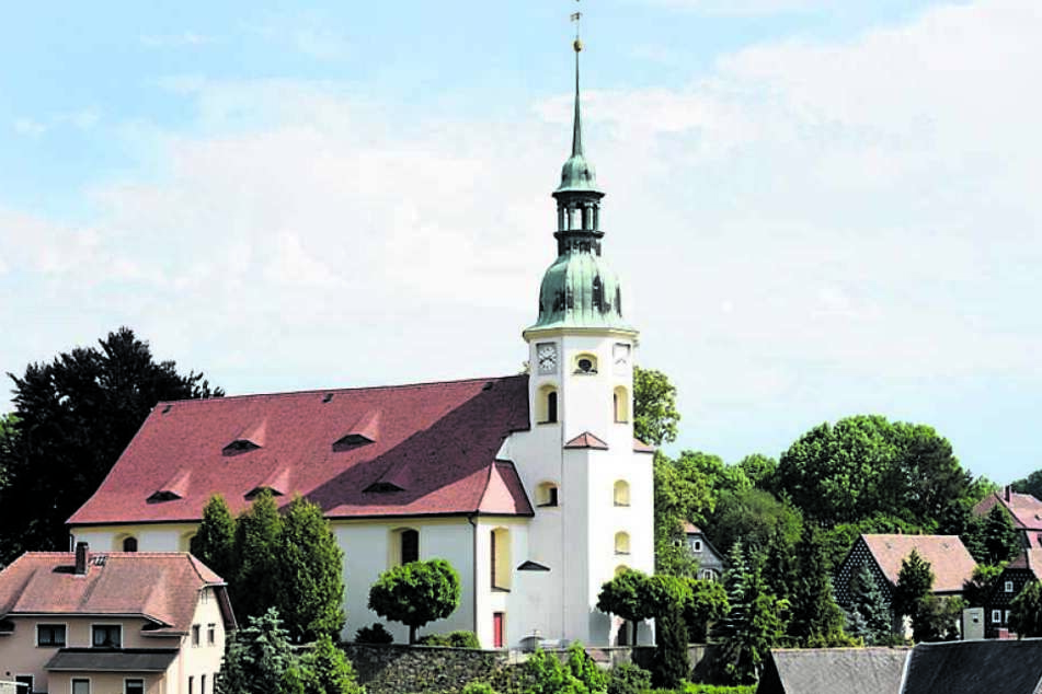 Die beschauliche Kirche in Obercunnersdorf wurde beklaut.