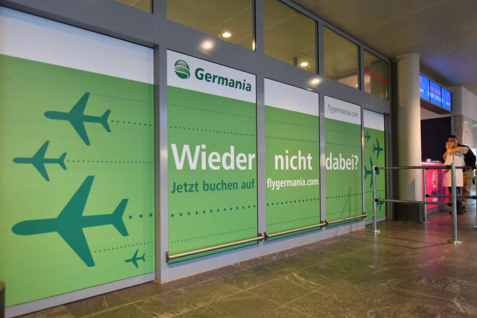 Der Flughafen verlor mit Germania seine wichtigste Fluglinie.