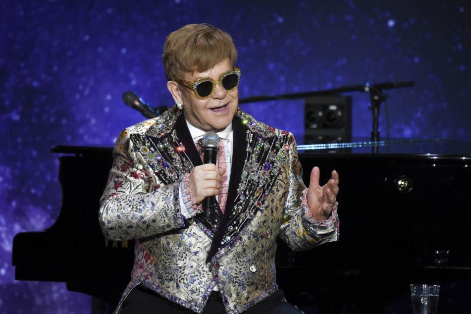 Elton John gibt zum Abschied mehr als 300 Konzerte auf der ganzen Welt.