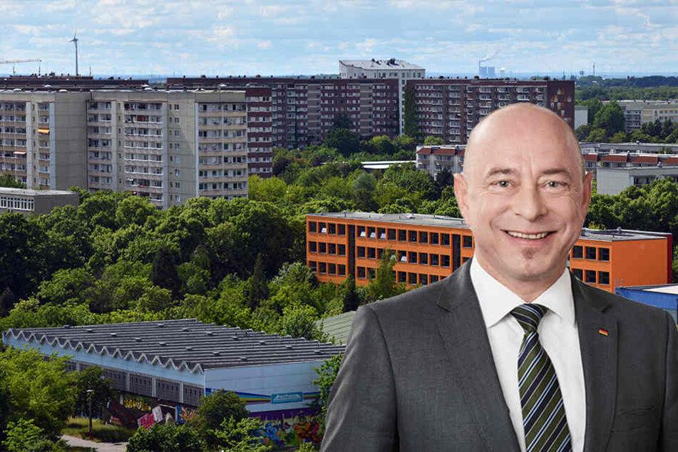 Aus Sicht des CDU-Bundestagsabgeordneten Thomas Feist braucht Grünau mehr kulturelle und soziale Angebote, um auch Studenten anzusprechen.