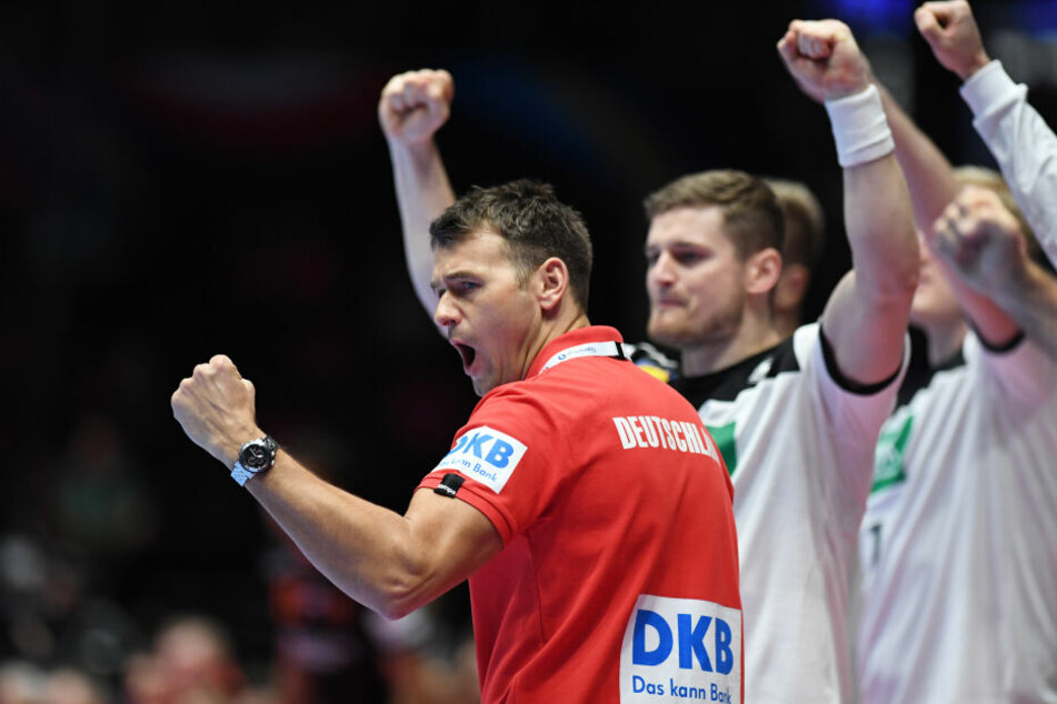 Christian Prokop (l) freute sich am Ende über einen Sieg.