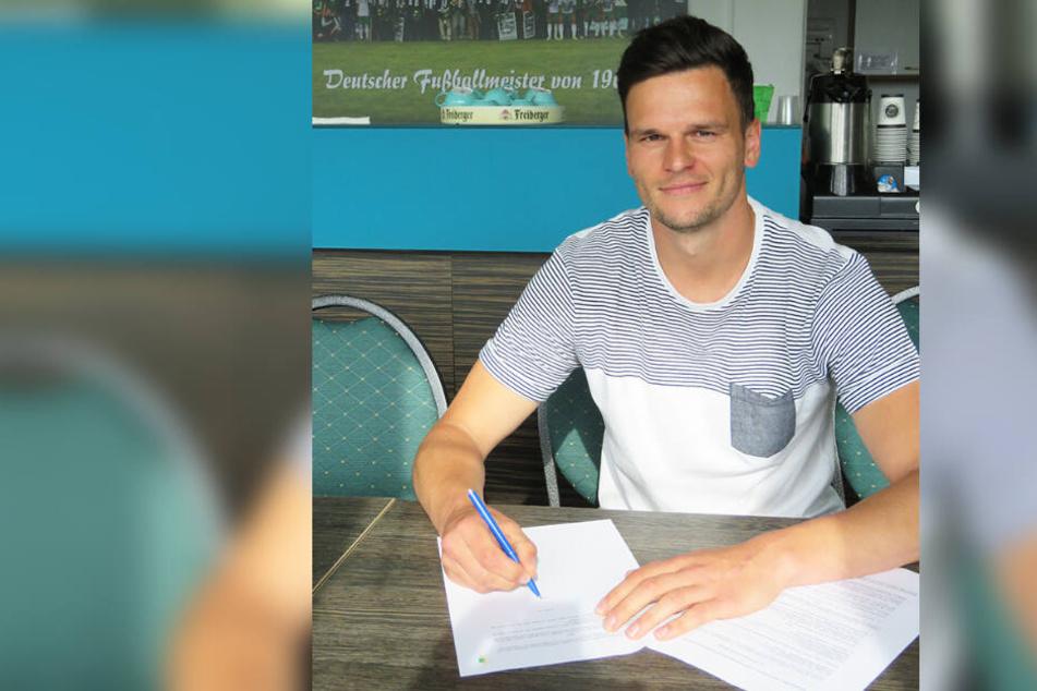 Der 29-Jährige kehrt nach einem Jahr beim VfL Halle 96 zurück nach Leutzsch.