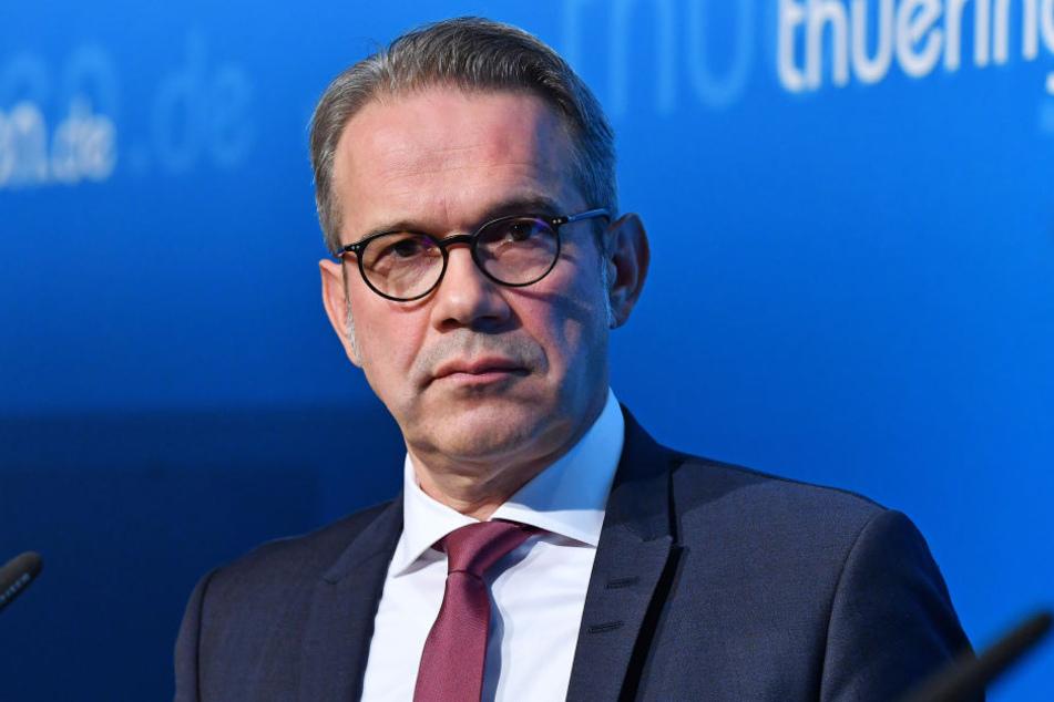 Innenminister Georg Maier (SPD) wies die Vorwürfe der Linken zurück.