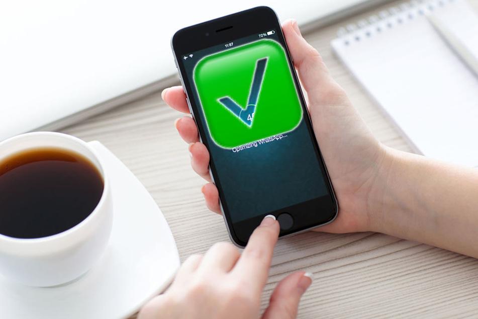 Wird bei WhatsApp bald das grüne Häkchen verboten?