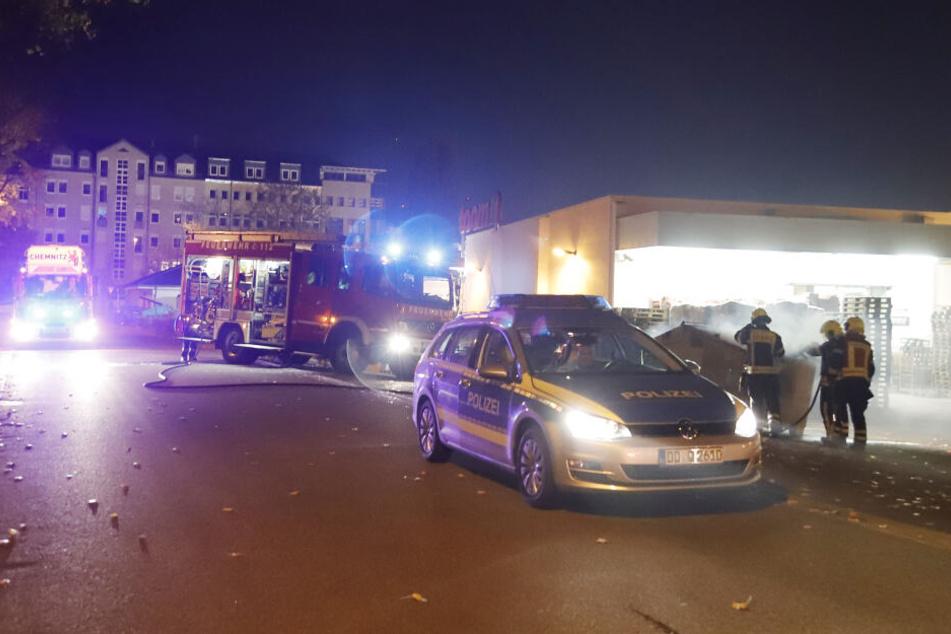 Polizei und Feuerwehr waren vor Ort.