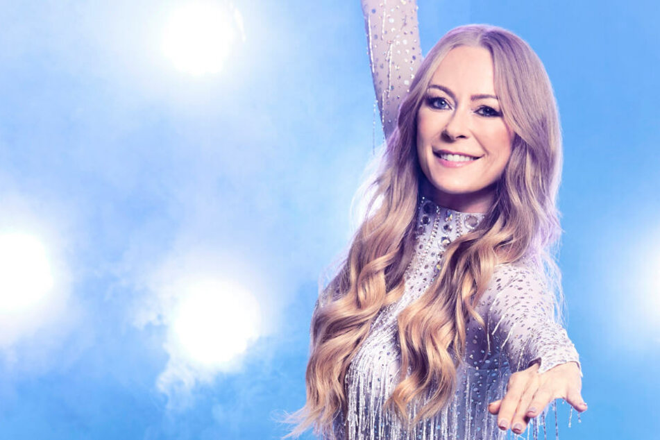 """Dancing on Ice"": Jenny Elvers denkt trotz Rippenbruch nicht an Aufgabe"