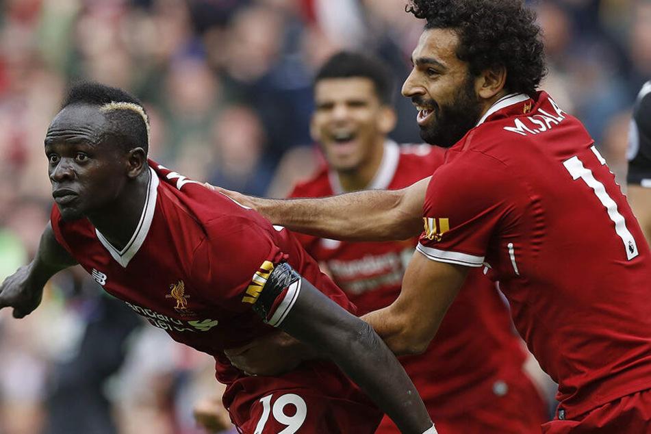 Sadio Mane und Mohamed Salah waren zwei große Eckpfeiler der vergangenen beiden Erfolgs-Saisons an der Anfield Road.