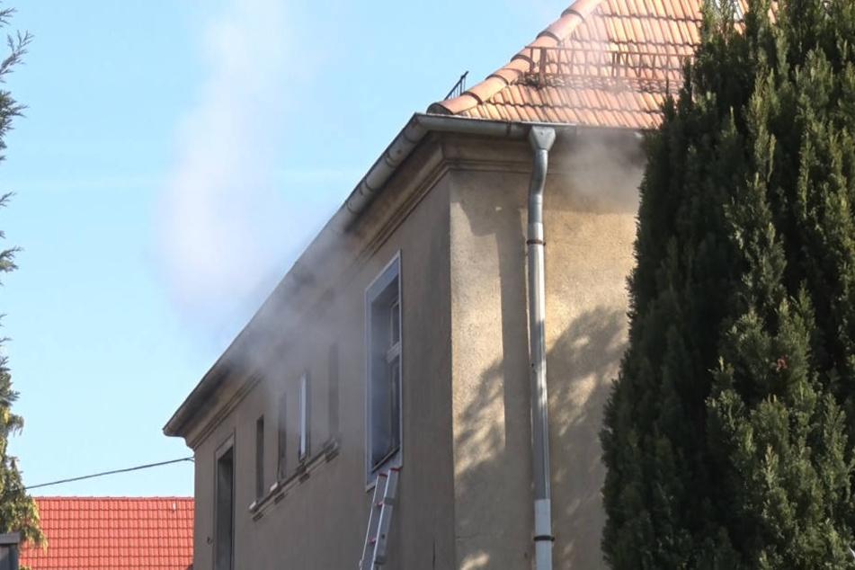 In Bautzen war am Sonntag ein Feuer in einer Wohnung ausgebrochen.
