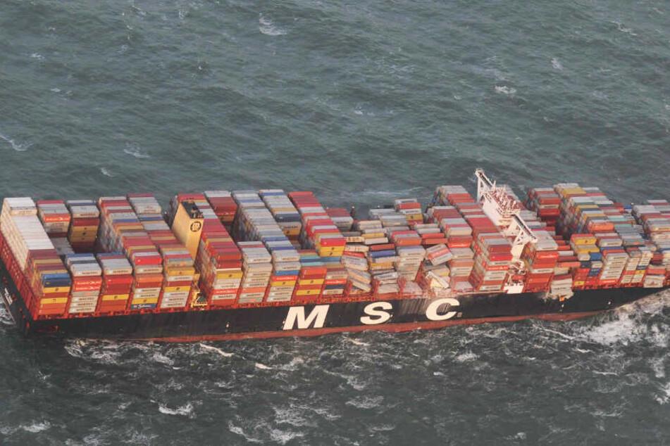 Havarie-Frachter MSC Zoe soll bald wieder zurück auf hohe See