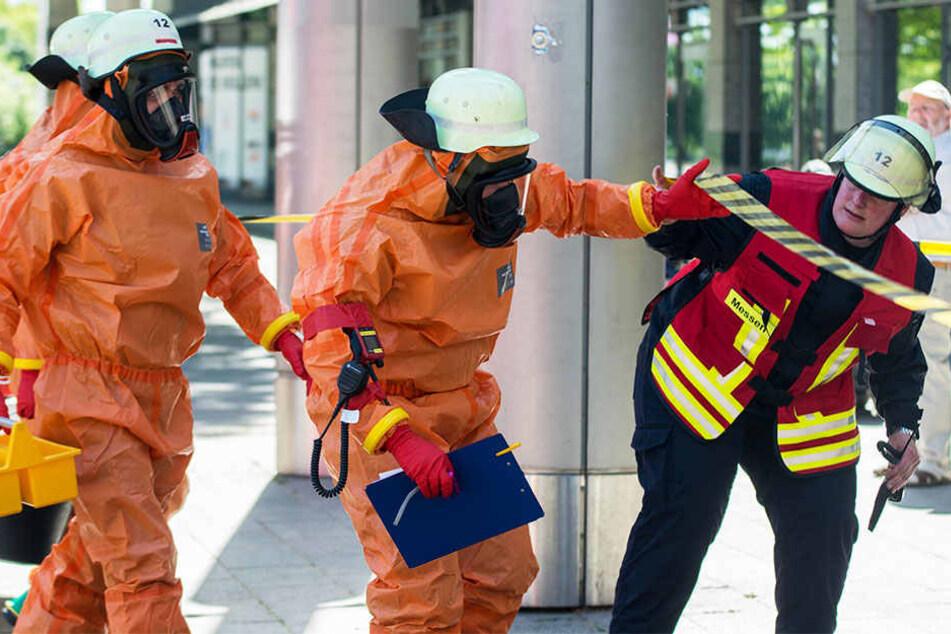 Der Fund löste einen Feuerwehr-Großeinsatz aus!