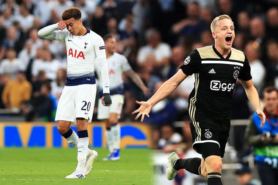 Ajax rockt weiter die Champions League und triumphiert auch bei Tottenham!